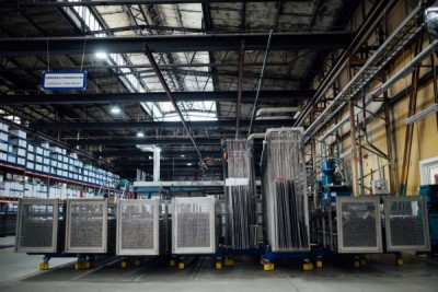 Elementy aluminiowe na hali - lakiernia proszkowa Alakiernia Lębork