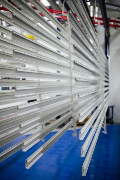 Malowane profile aluminiowe - Alakiernia Lębork