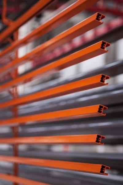 Aluminium lakierowane na czerwono - certyfikat Qualicoat - Alakiernia Lębork