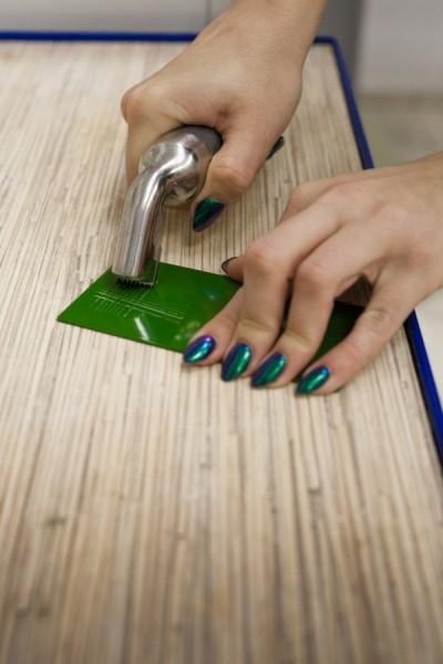 Testy odporności na malowanym proszkowo aluminium - Alakiernia Lębork